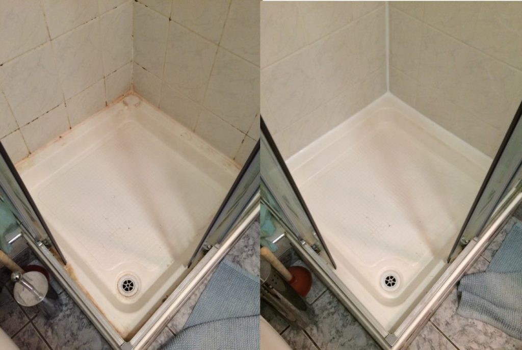 Before and After Shower Sealing In West Bridgford